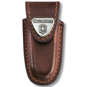Victorinox 91mm 2-4 Layers Leather Belt Pouch - Brown